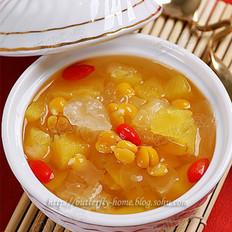 鹰嘴豆菠萝银耳汤