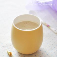 黑豆核桃粉蜂蜜奶的做法