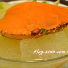 水蟹煲冬瓜的做法