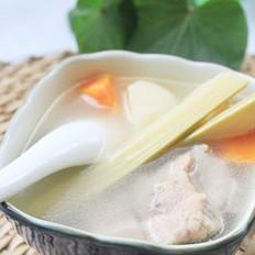 竹蔗马蹄排骨汤