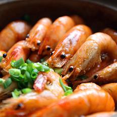 干锅蚝油沼虾的做法