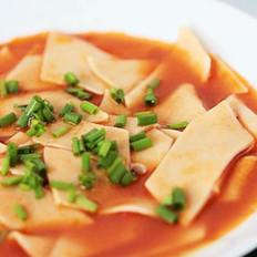 腐乳番茄片儿汤的做法