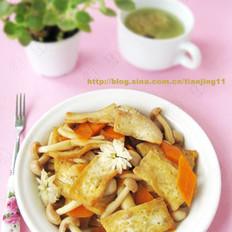 菊花豆腐的做法
