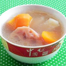 沙葛莲藕猪骨汤的做法
