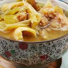 霸王花骨头汤的做法