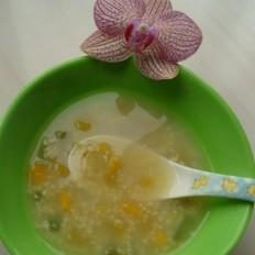 水果米粥的做法