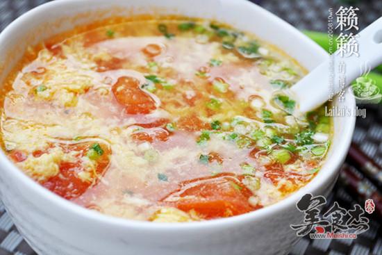 番茄蛋花汤_番茄蛋花汤怎么做_番茄蛋花汤的做法_遂宁图片网; 主料