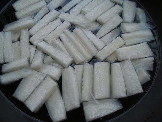 白萝卜牛肉汤的做法