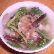 榛蘑小白菜汤