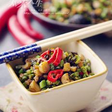 筍丁欖菜豇豆的做法