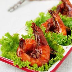 番茄姜味虾的做法