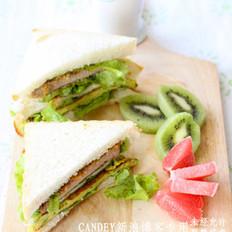 多维营养三明治的做法
