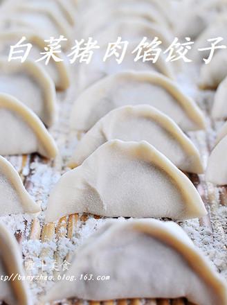 白菜猪肉馅饺子的做法