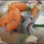 毛薯鲫鱼汤