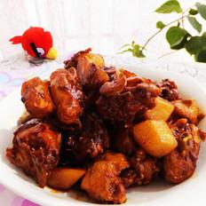 紅燒土豆雞塊的做法