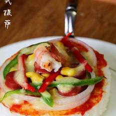 中式披薩  的做法