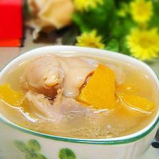 南瓜猪蹄汤的做法