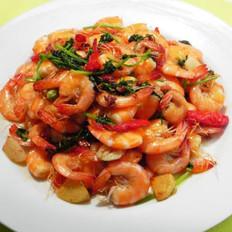 麻辣焖虾的做法
