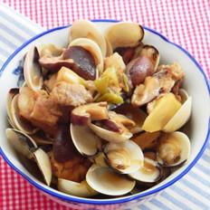 香菇白蛤烧排骨的做法