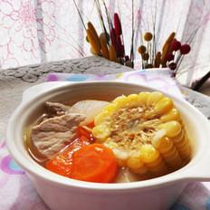 冬瓜玉米汤
