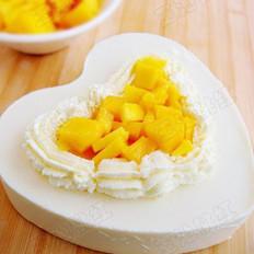 酸奶芒果慕斯蛋糕  的做法