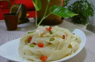 凉拌刀削土豆的做法