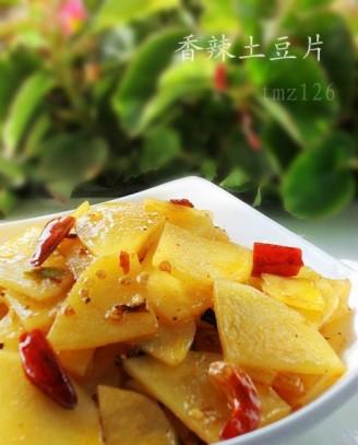 美食 土豆片/香辣土豆片...
