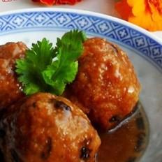 蚝油香菇丸子
