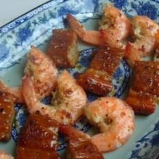 烤大虾牛肉