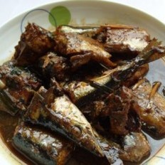 红烧沙丁鱼