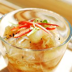 凉拌海蜇魔芋丝的做法