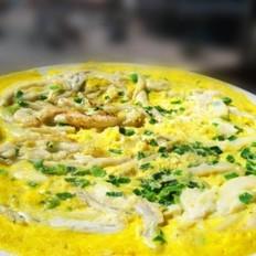 银鱼鸡蛋饼的做法