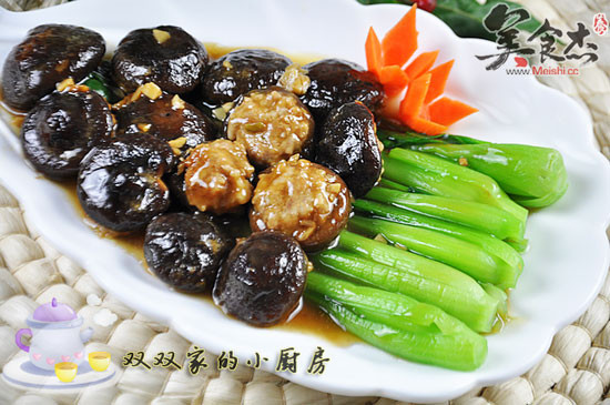 香菇酿肉扒油菜Mg.jpg