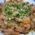 蒜蓉清蒸虾的做法