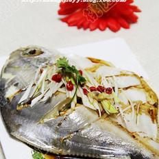 姜油晶鱼的做法