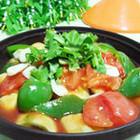 西红柿烩茄子