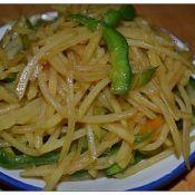 柿子椒炒土豆