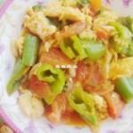 蒜香木须柿子的做法