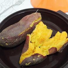 烤红薯的做法