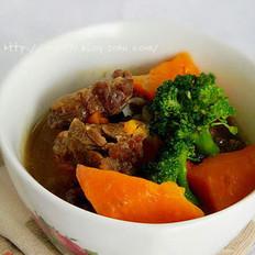 胡萝卜焖牛肉的做法