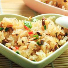 猪油香菇茭白炒饭