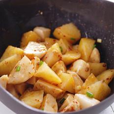 烤芋儿土豆的做法
