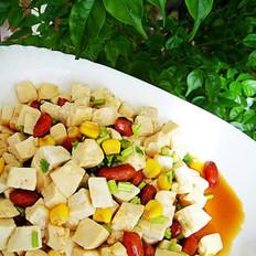 多彩豆腐的做法