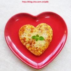 爱心土豆饼的做法