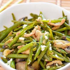 口蘑四季豆