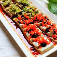 双椒豆豉臭豆腐的做法