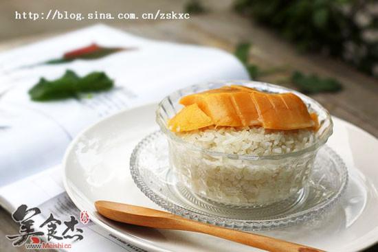 芒果饭的制作的做法【步骤图】_菜谱_美食杰