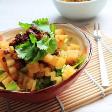 凉拌酸辣土豆条的做法
