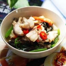 水煮鱼虾的做法