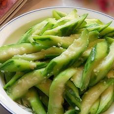 蒜茸炒丝瓜的做法